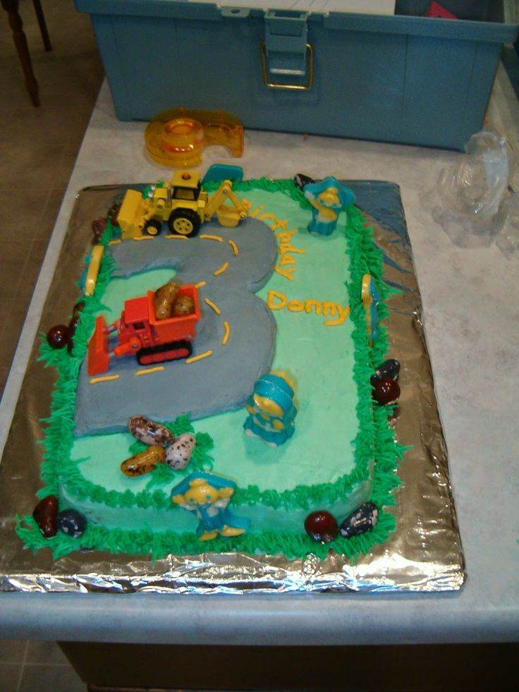 Best Ideas About Bob The Builder Cake On Pinterest