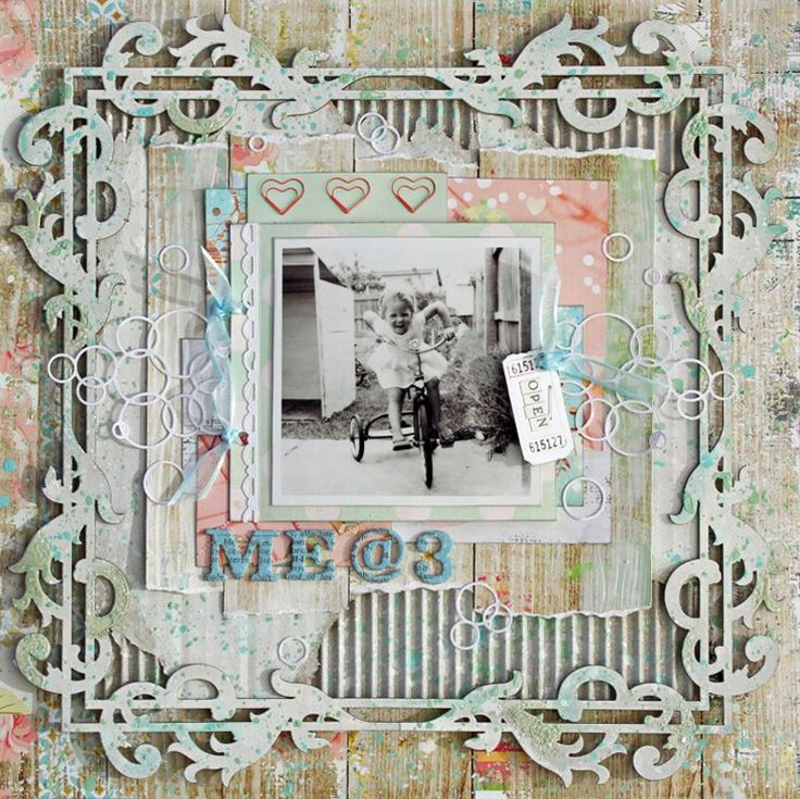Created by Heather McMahon for Scrap Around The World, January 2015, Challenge 21
