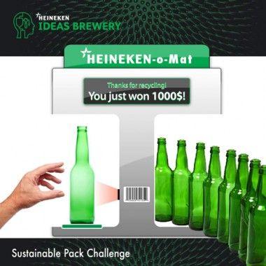 Heineken Green Bottle initiative