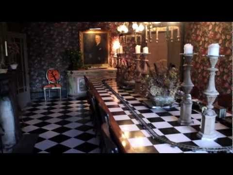 The Alice in Wonderland home -- OffBeat Spaces Video    http://www.usbuildingdigest.com/columns/architecture-columns/video-artist-brings-whimsey-to-finger-lakes-farmhouse