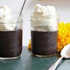 Midnight Black Chocolate Pudding   Joy the Baker