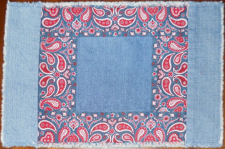 Red, White and Blue Placemats Set of 4 by RevisionsDesigns on Etsy