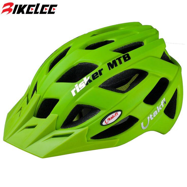 2017 de La Bicicleta Casco de Ciclo Para Hombre MTB Mountain Bike Helmets Integralmente moldeado-Sport Racing Capacete Cascos de Ciclismo Casco Bici