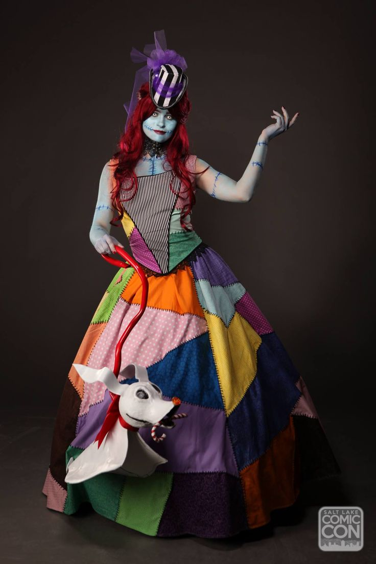 Sally from Nightmare Before Christmas cosplay at Salt Lake Comic Con 2015
