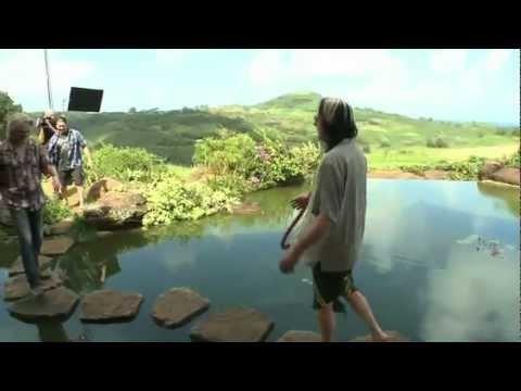 Todd Rundgren's infinity pond at house house in Kauai ...