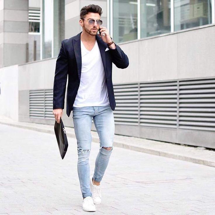 Les 25 meilleures id es de la cat gorie jean trou sur pinterest manteau trench jaune - Jean blanc troue ...
