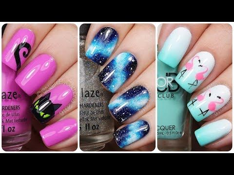 VideoTuto – Prime 20 Simple Nail Artwork Designs! Diy Nail Artwork💅Learn how to Paint your Nail…