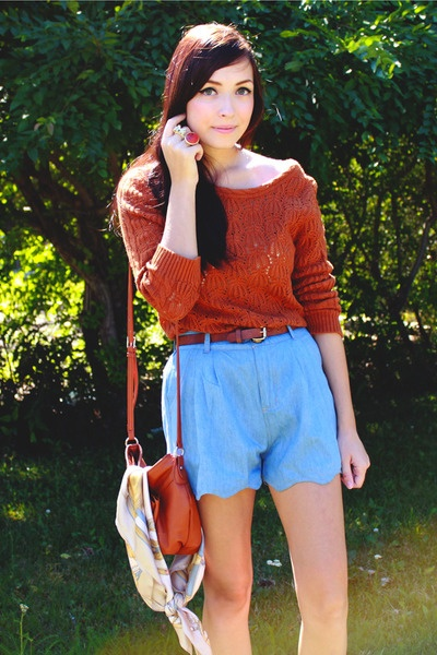 scalloped shortsScallops Shorts