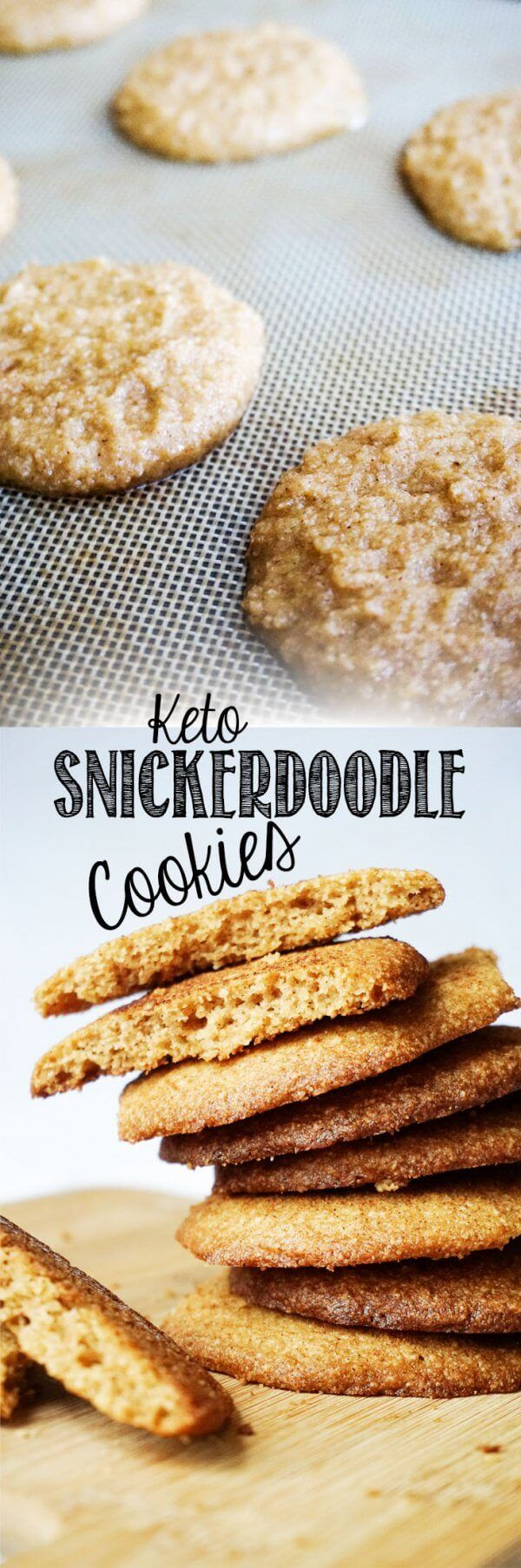 Low Carb Snickerdoodle Cookies perfect for any occasion!