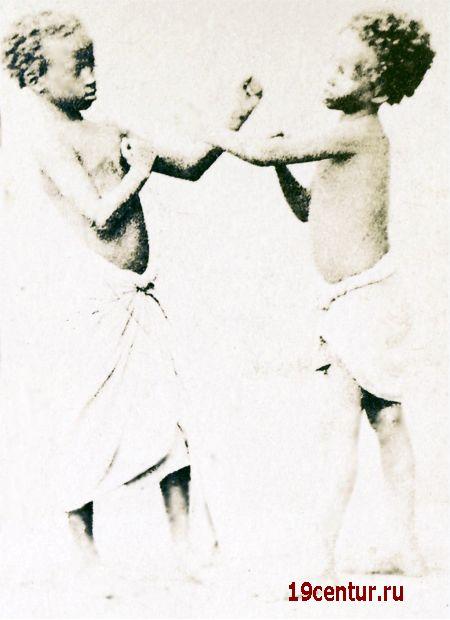 Сомалийские мальчики в Адене. 19 век.