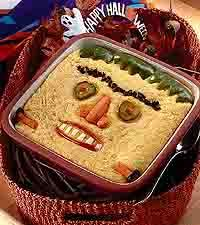 terrifying tamale pie lol perfect for halloween dinner yes i forgot - Halloween Casserole Recipe Ideas