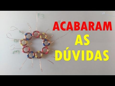 APRENDA A BOBINAR E LIGAR AS BOBINAS DO ROTOR GERADOR TRIFÁSICO - YouTube