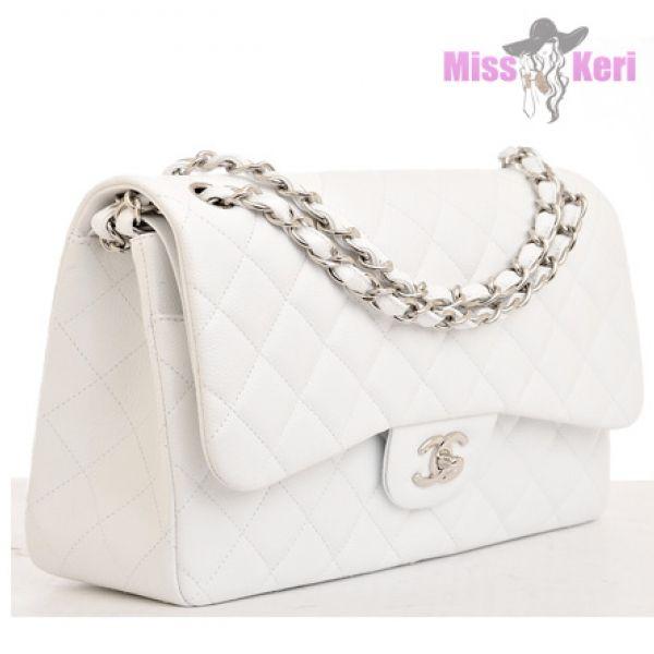 Купить сумку Chanel (Шанель) 2.55 white, цена, интернет магазин в Украине и…