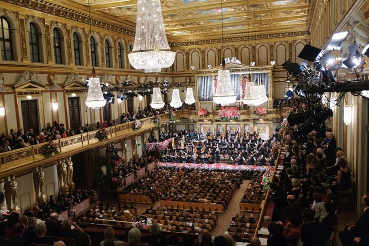 There is no new years eve without the Radetzky March played by the Wiener Philamoniker  Live in tv in 90 countries around the world
