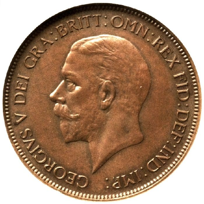 Heritage Auctions to sell legendary 1933 George V Penny