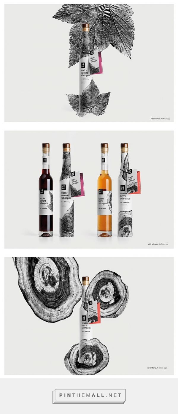 SÄDE schnapps by Koor Packaging Design. Source: Daily Package Design Inspiration. Pin curated by #SFields99 #packaging #design #inspiration #ideas #branding #alcoholic #beverages