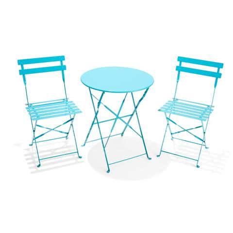 3-Piece Outdoor Bistro Setting - Teal | Kmart | House in 2018 | Pinterest |  Outdoor, Furniture and Patio - 3-Piece Outdoor Bistro Setting - Teal Kmart House In 2018