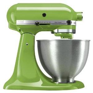 KitchenAid Stand Mixer in Green Apple