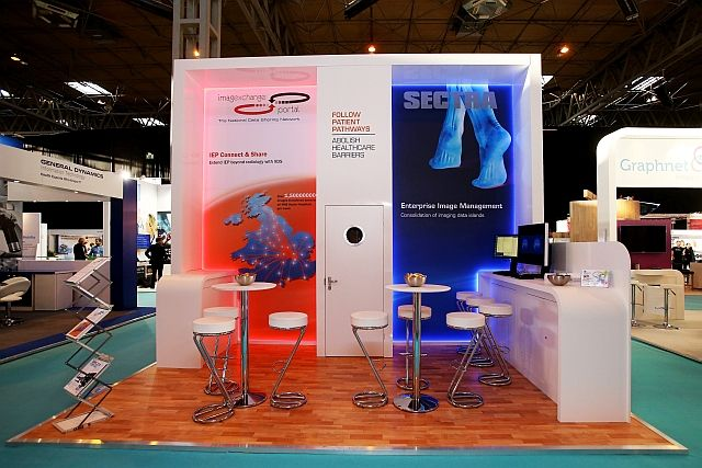 The New Sectra Stand we built at the exciting #EHILive Show in #Birmingham
