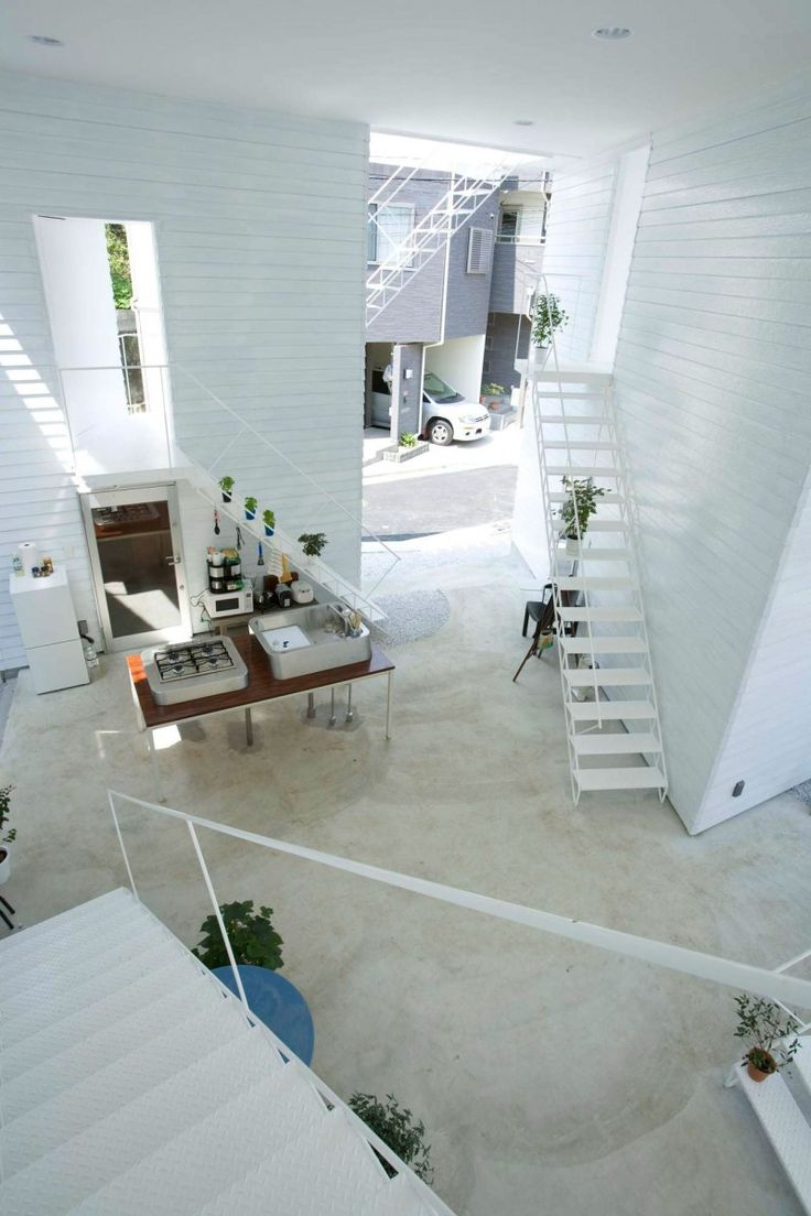 Dramatisches Weises Interieur Design Beeinflusst Escher | Möbelideen