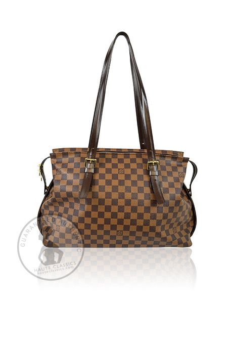 LOUIS VUITTON Damier Ebene Chelsea Shoulder Bag - HauteClassics