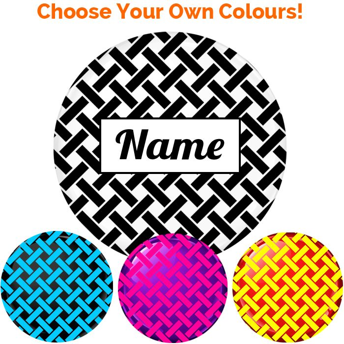 Name Badge - Create Your Own #020 - 75mm