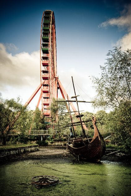 #SPREEPARK #PLAENTERWALD #BERLIN amusement park in decay...