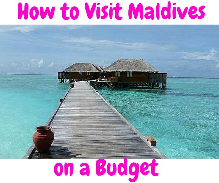 Tips for Maldives vacation or honeymoon for less than $5,000 for a couple. Find over water villas and All-Inclusive options. You CAN afford it!