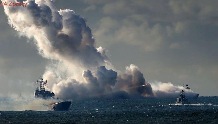 Rusko odpálilo z fregaty střely proti IS ve východní Sýrii