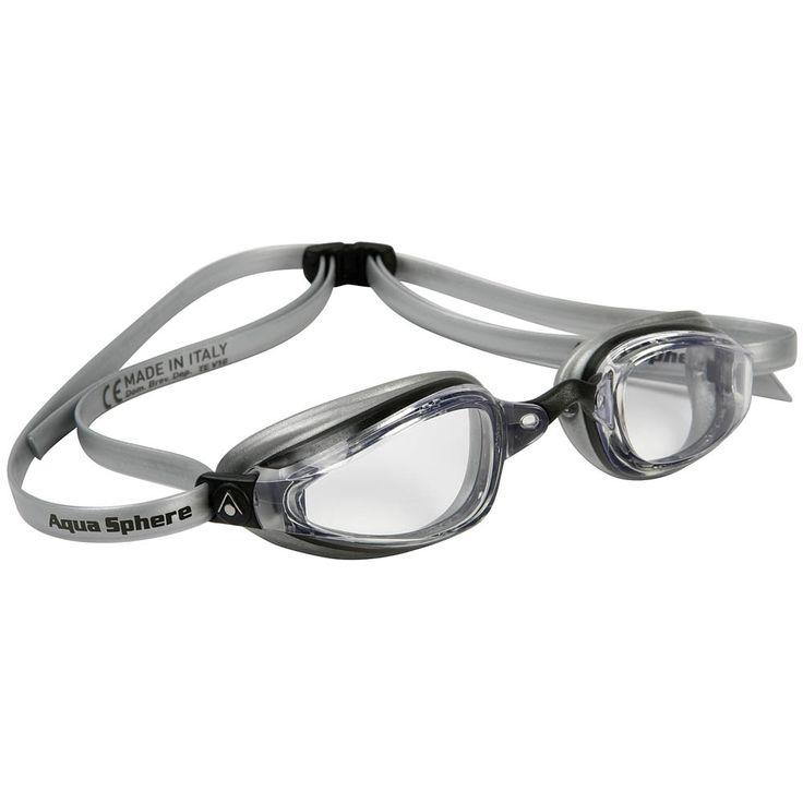 AquaSphere K180+ competition swimming googles. Sleek!