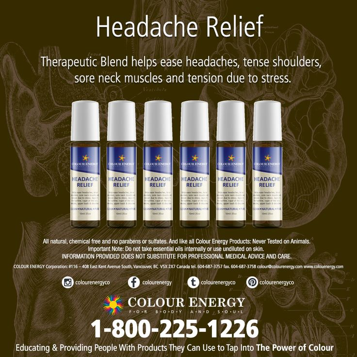 Suffering from headaches? Ensuring that you are drinking enough water, and still no relief?  Therapeutic Blends help ease headaches, tense shoulders, sore neck muscles and tension due to stress. Ready to use in a compact 10ml bottle with a roll-on applicator or a 1ml sampler vial which are ideal for travelling!  #colourenergy