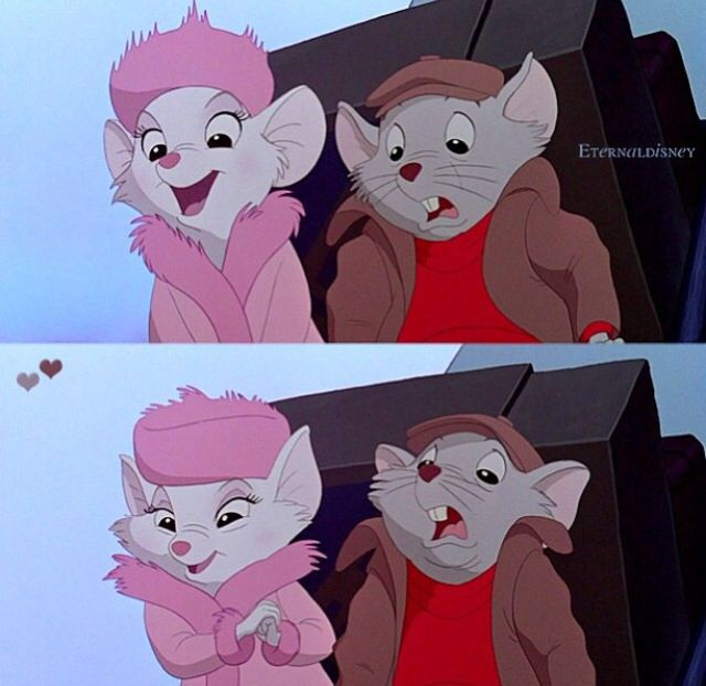 The Rescuers. Used to watch this all the time when I was little!