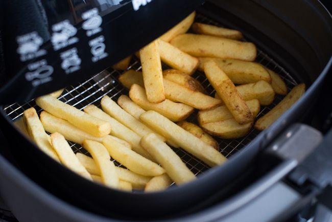 De grote Airfryer Friettest