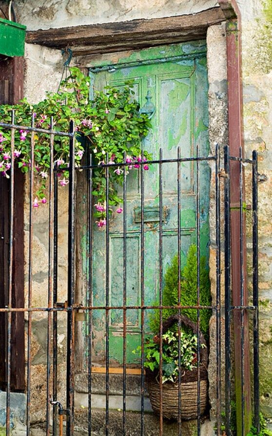 I love England's old doors and I love St. Ives, Cornwall, England