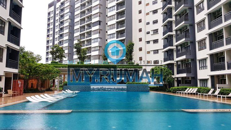 Fully Furnished Suria Residence Bukit Jelutong, Shah Alam
