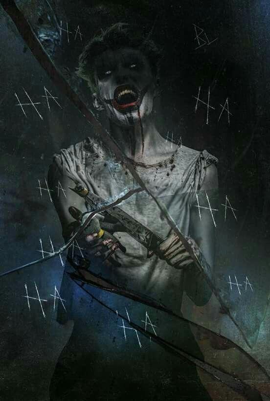 The Joker in Arkham Asylum