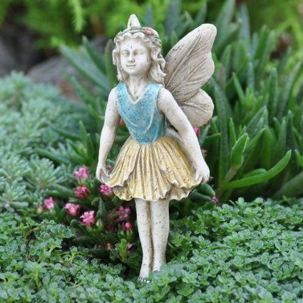 Amazon.com: Miniature Fairy Garden Fairy Kimberly: Patio, Lawn & Garden