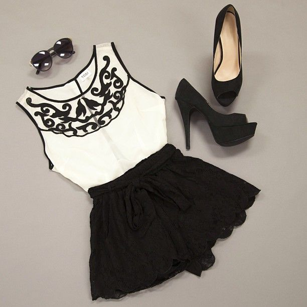 Perfect sophisticated Tobi outfit!