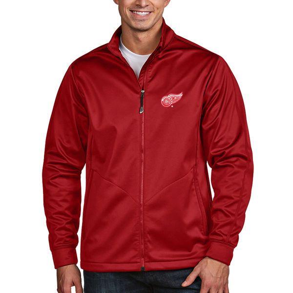 Detroit Red Wings Antigua Full Zip Golf Jacket - Red - $99.99