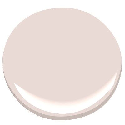 "Wild Aster by Benjamin Moore: ""A pale gray undertone makes this subtle pink almost neutral; a delicate shade evocative of a field of wildflowers caressed by the wind on a summer day."":"