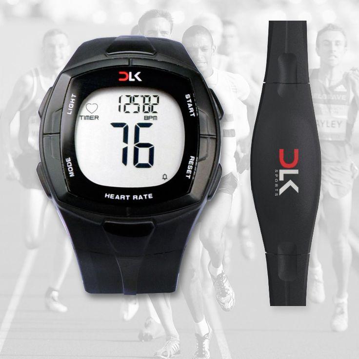 Fitness Pulse Calories Wireless Heart Rate Monitor Digital Polar Watch Running Cycling Chest Strap Men Women Sports Watch
