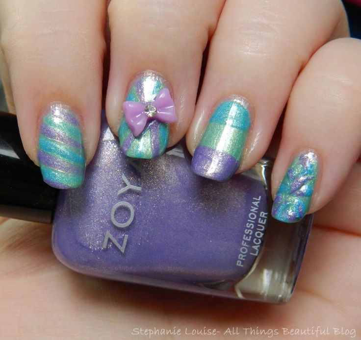 Kbshimmer Spring 2014 Chevron Dot Nail Art Easter Design: 17 Best Ideas About Cute Nail Polish On Pinterest