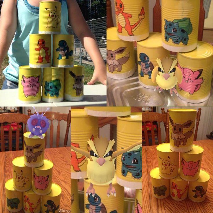 Pokemon Carnival Game DIY Pokemon Go