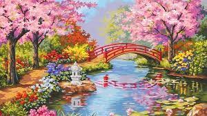 """Résultat de recherche d'images pour """"japanese garden wallpaper"""""""