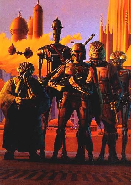 Ralph McQuarrie, who did the concept art for Star Wars (among other films), died over the weekend. Here is one of his works.