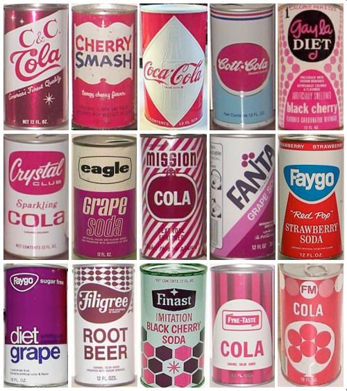 pink cans