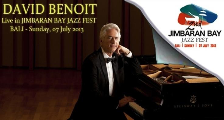 David Benoit live in Jimbaran Bay Jazz Festival 2013