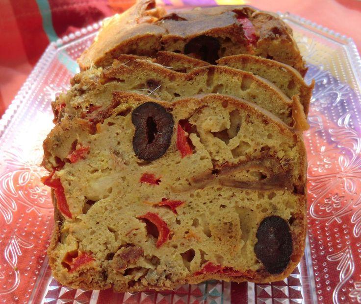 Ma petite cuisine gourmande sans gluten ni lactose: Cake salé aux farines de riz et sarrasin sans gluten ni lactose