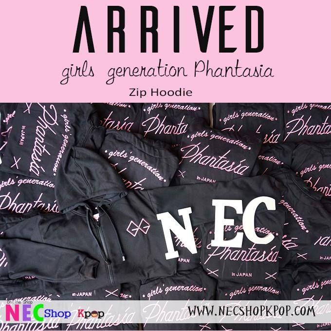 PACKING HOODIE GIRLS GENERATION PHANTASIA - NEC Shop Kpop