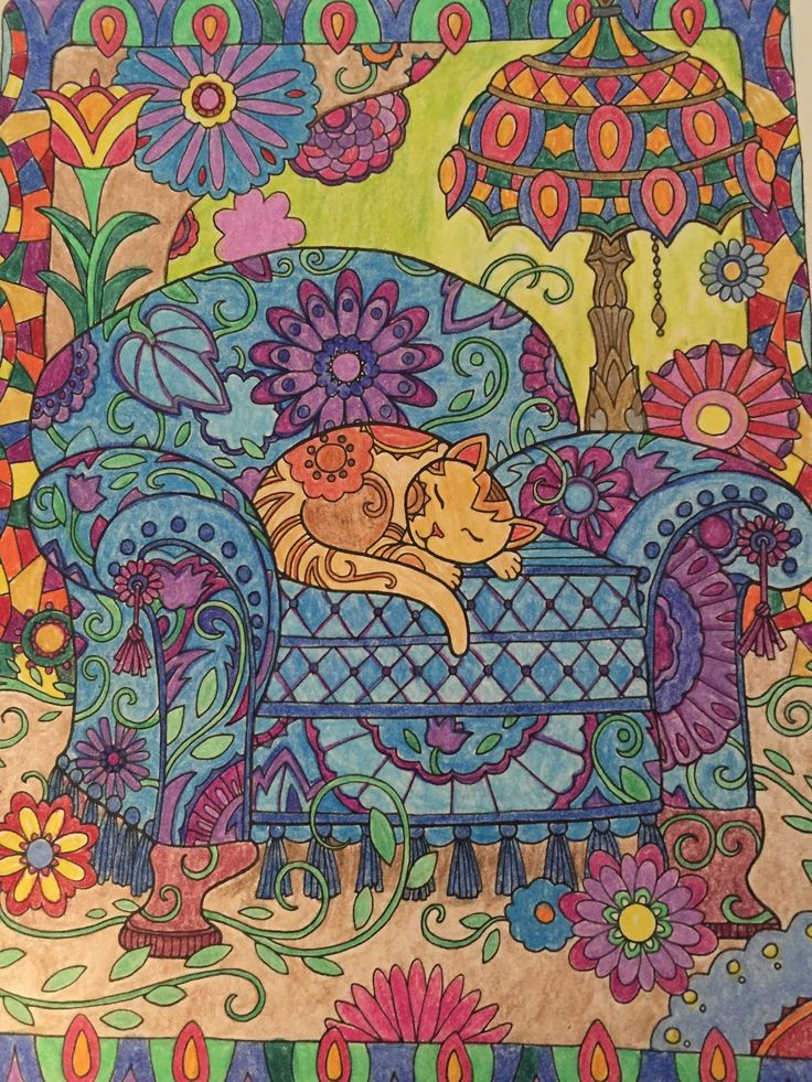 Creative Cats Haven Books Colored By Jan Coloring BooksAdult